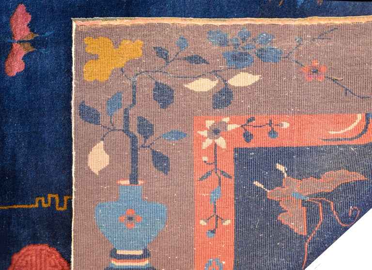 Exquisite Chinese Art Deco Rug For Sale 4