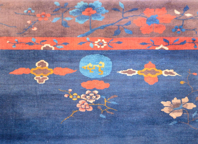 Exquisite Chinese Art Deco Rug For Sale 1