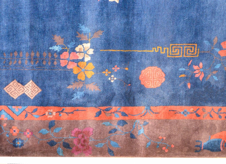 Exquisite Chinese Art Deco Rug For Sale 2