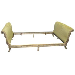 Exquisite French Directoire-Style Painted Daybed