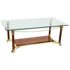 Exquisite Hollywood Regency Coffee Table