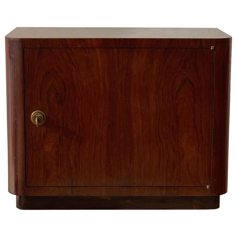 Exquisite Jacaranda Jewelry Chest by Joaquim Tenreiro