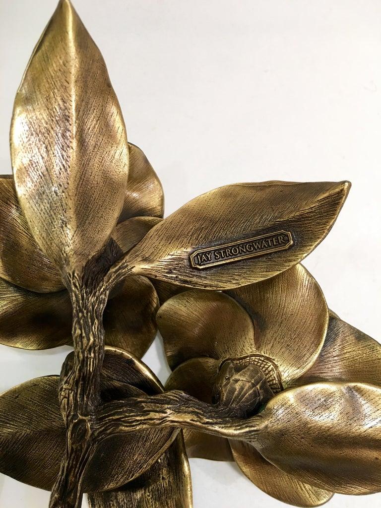 Exquisites Jay Strongwater Jeweled Emaille Gardenia Blumen Objet d ' Art 10