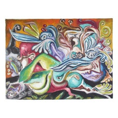 Exquisite Julio Aguilera Oil Painting on Canvas