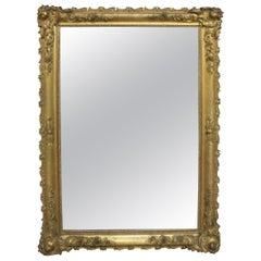 Exquisite Late 18th Century Italian Giltwood Mirror