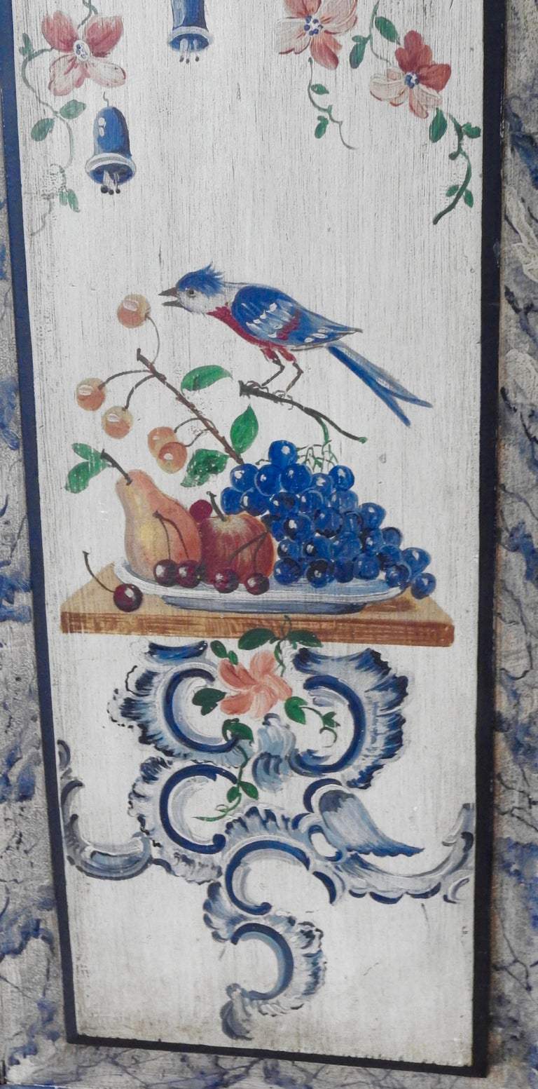 Exquisite Late 18th Century Scandinavian Painted Wardrobe For Sale 12