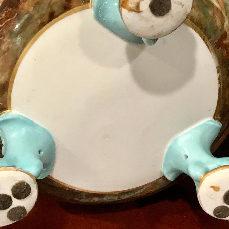 Exquisite Mintons Barnyard Motif Cachepot For Sale 11