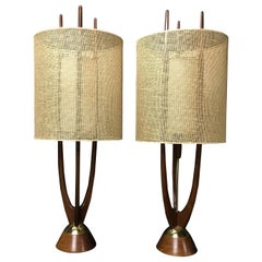 Exquisite Pair of Lamps by Modeline