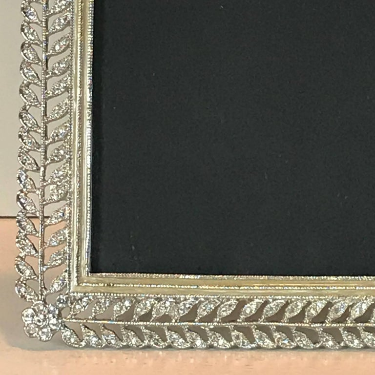 Exquisite Paste Russian Style Frame In Good Condition For Sale In West Palm Beach, FL