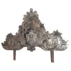 Exquisite Venetian Mirror Crown