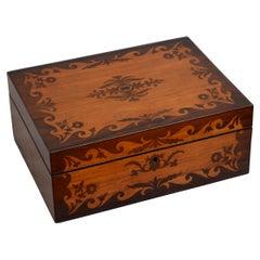 Exquisite Victorian Jewelry Box