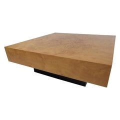 Exquisite Vintage Milo Baughman Coffee Table