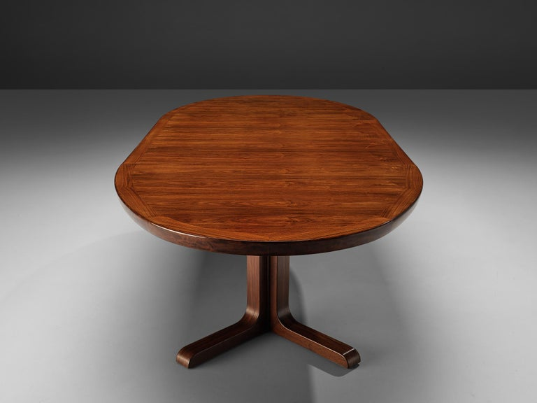 Extendable Danish Dining Tablein Teak For Sale 6