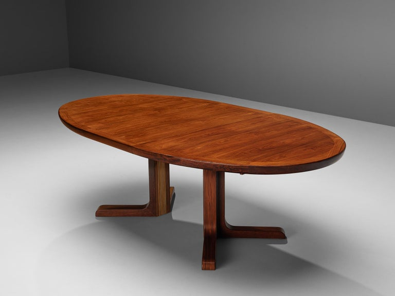 Extendable Danish Dining Tablein Teak For Sale 8