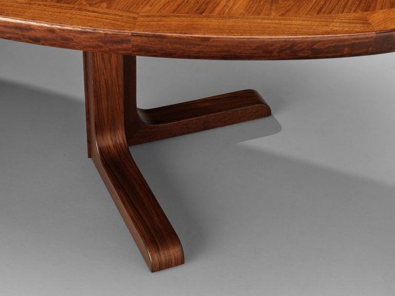 Extendable Danish Dining Tablein Teak For Sale 9