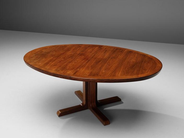 Extendable Danish Dining Tablein Teak For Sale 2