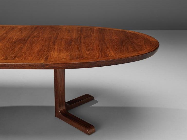 Extendable Danish Dining Tablein Teak For Sale 3