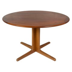 Extendable Dining Table in Teak Attr. to Niels Otto Moller for Gudme, Denmark 19