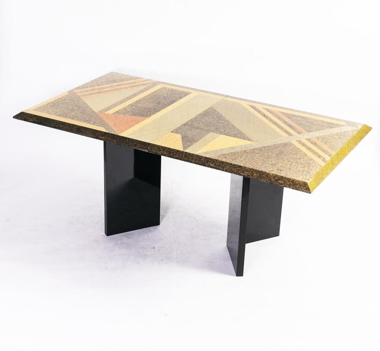 Extendable Dining Table by Giovanni Offredi for Saporiti, Italy, circa 1980 2