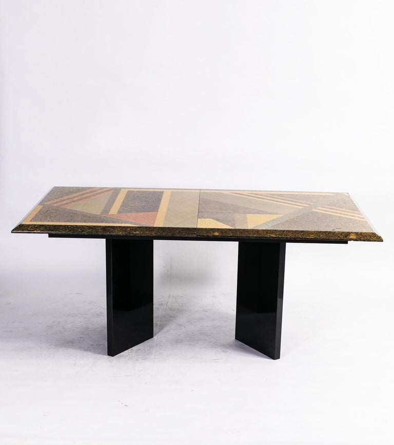 Extendable Dining Table by Giovanni Offredi for Saporiti, Italy, circa 1980 3