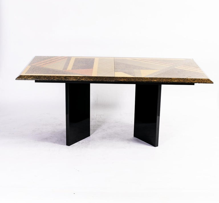 Extendable Dining Table by Giovanni Offredi for Saporiti, Italy, circa 1980 4