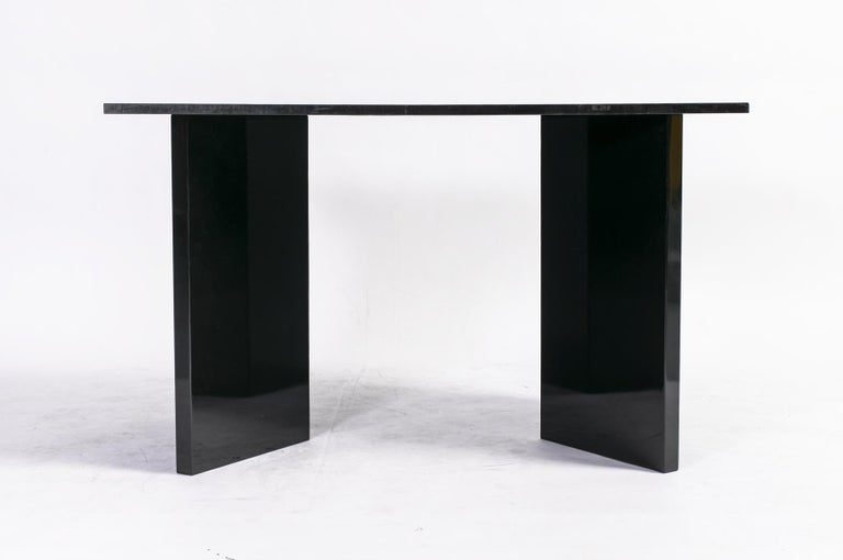 Extendable Dining Table by Giovanni Offredi for Saporiti, Italy, circa 1980 6