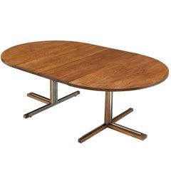 Extendable Italian Dining Table in Oak