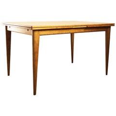 Extendable Oak Dining Table by Niels O. Møller for J.L. Møllers Møbelfabrik