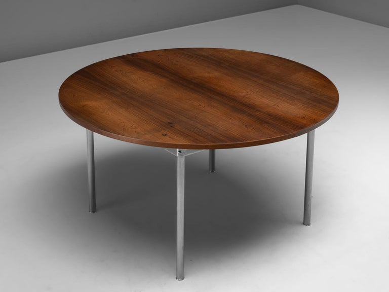 1960s Extendable Rosewood Table by Hans Wegner for Andreas Tuck For Sale