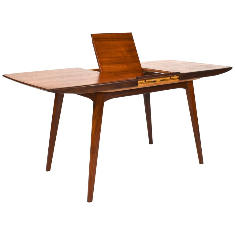 Extendable Teak Dining Table By Louis Van Teeffelen Circa 1960 For