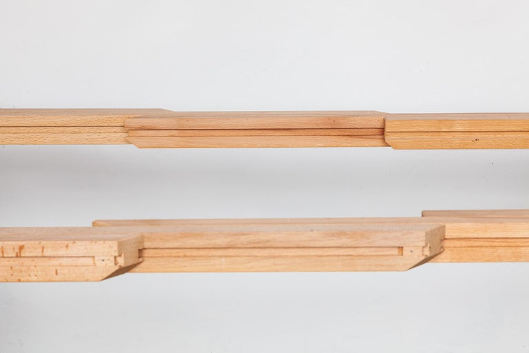 Extendable Walnut Table by Horst Bruning for Kill International, 1970s For Sale 2