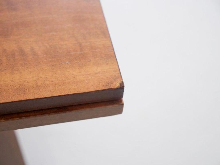 Extendable Walnut Table by Silvio Coppola for Bernini, Model 612 For Sale 3