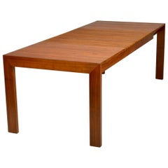 """Extending """"Accordion"""" Solid Walnut Dining Table"""