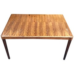 Extending Danish Dining Table in Rosewood by H W Klein for Bramin
