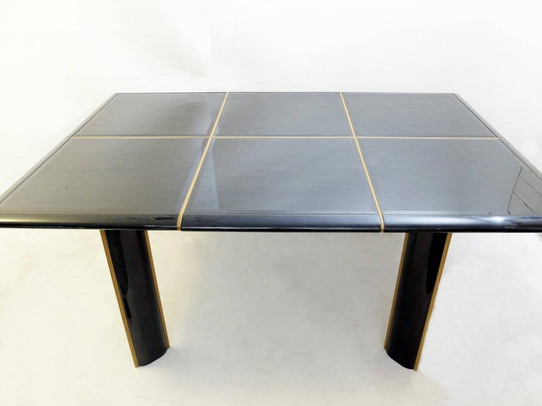 Extending Dinning Table by Cardin, Italy, circa 1950 For Sale 4