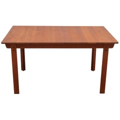 Extending Teak Dining Table Made in Denmark, 1960s