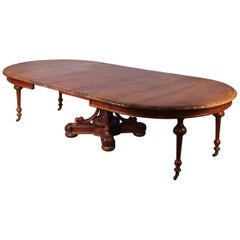Extension Henri II Dinning Table