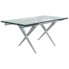 Extension Table 'Tender' by L. Cozza and L. Mascheroni for Desalto, Italy, 198