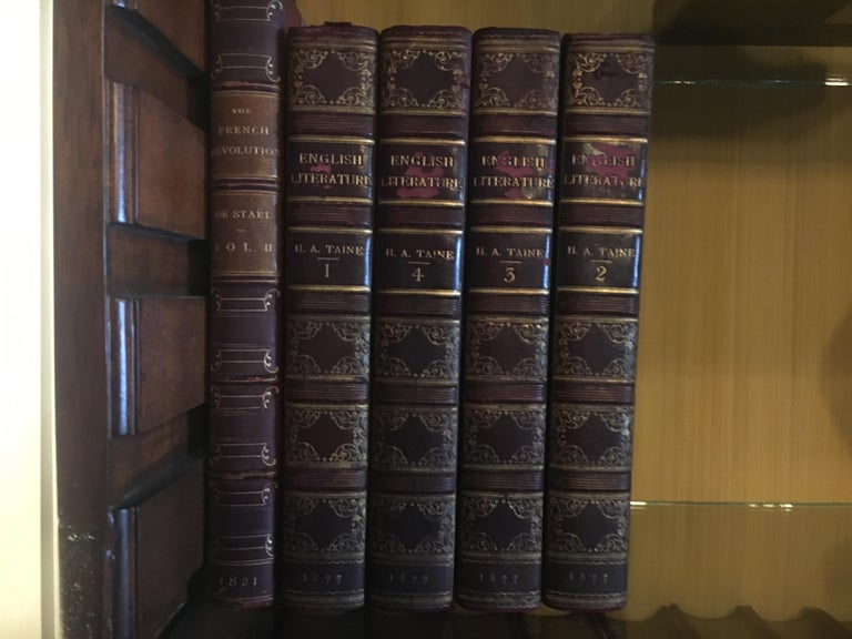Extensive Collection of 19th Century Leather Bound Books, Priced Per Book For Sale 2