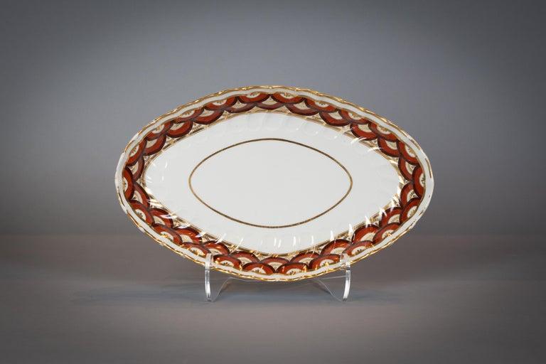 Extensive English Porcelain Dessert Service, Flight and Barr, circa 1792 For Sale 6