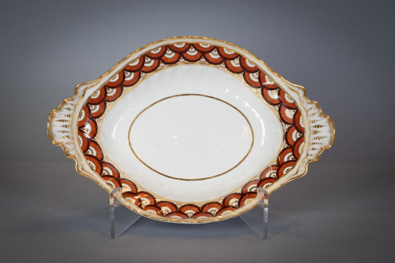 Extensive English Porcelain Dessert Service, Flight and Barr, circa 1792 For Sale 7