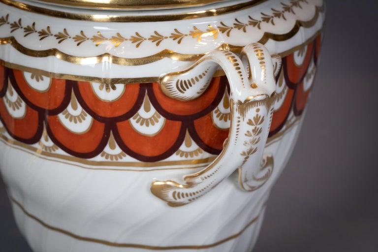 Extensive English Porcelain Dessert Service, Flight and Barr, circa 1792 For Sale 1