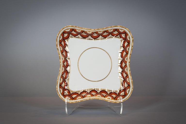 Extensive English Porcelain Dessert Service, Flight and Barr, circa 1792 For Sale 4