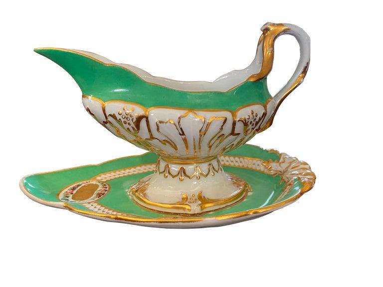 Extensive Paris Porcelain Dinner Service For Sale 5