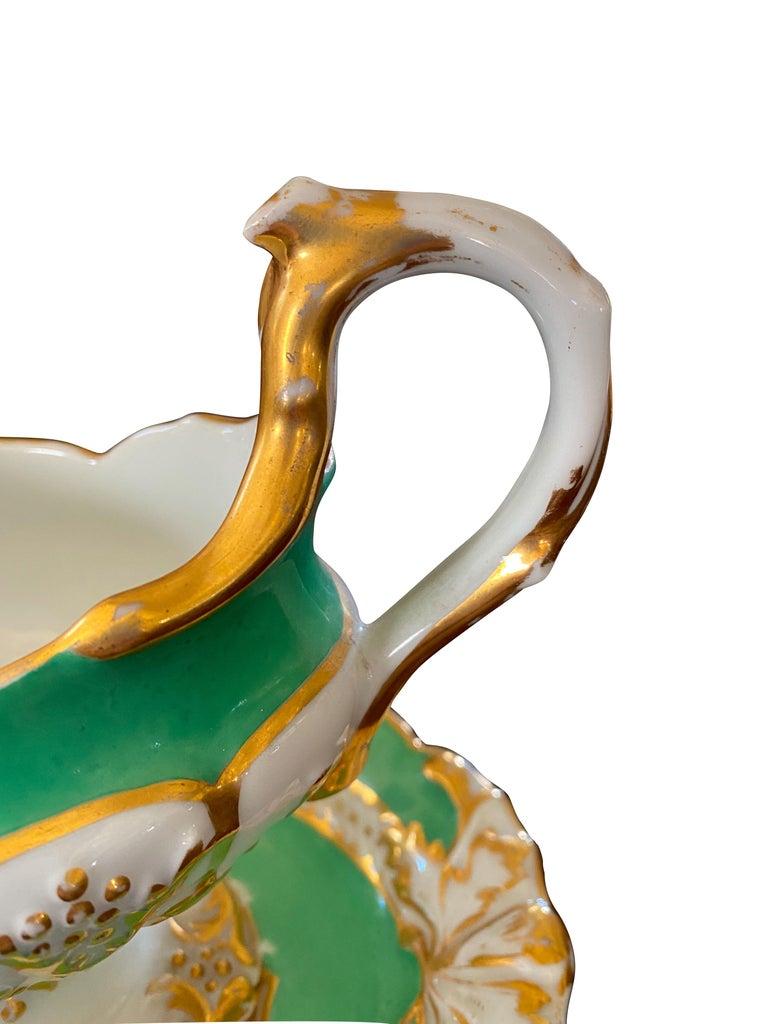 Extensive Paris Porcelain Dinner Service For Sale 6