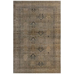 Extra Large 19th Century Persian Kirman Carpet