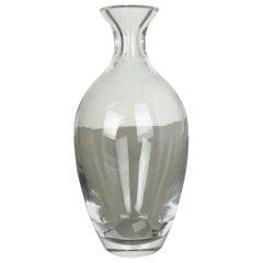 Extra Large 2.5kg Lucid Vase Murano Vetri Glass Cenedese Vetri, Italy, 1970