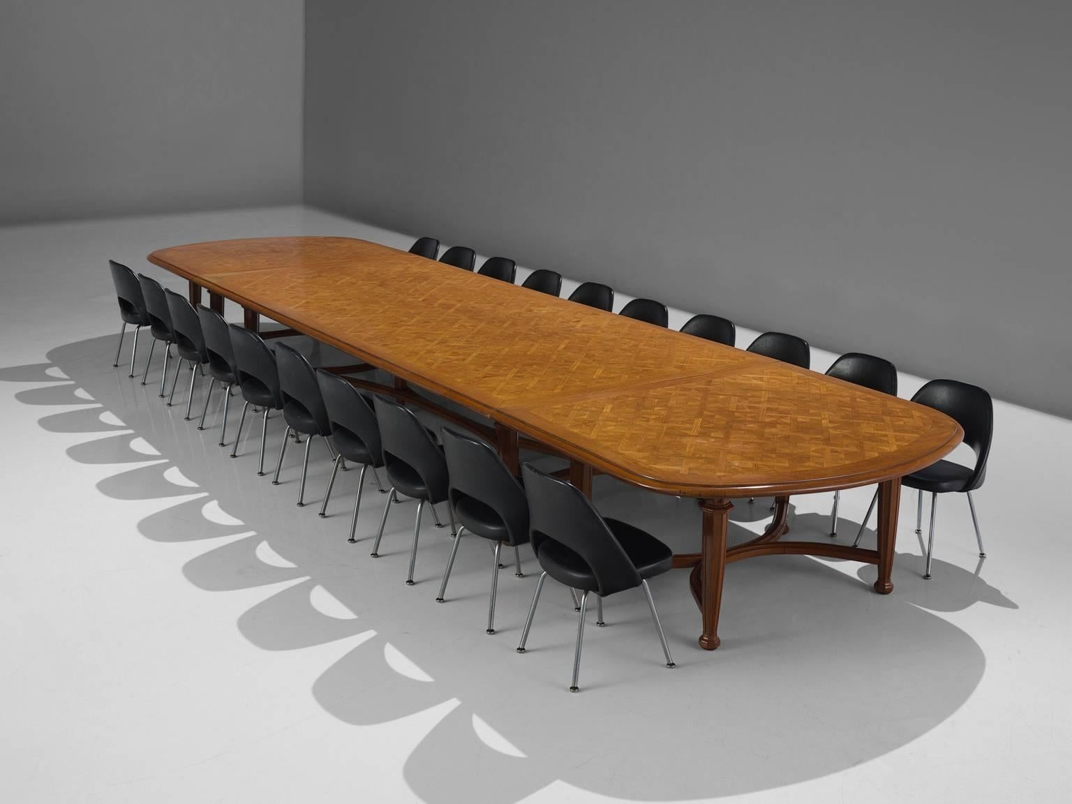 Extra Large Cmin Oak Conference Table C For Sale At - Extra large conference table