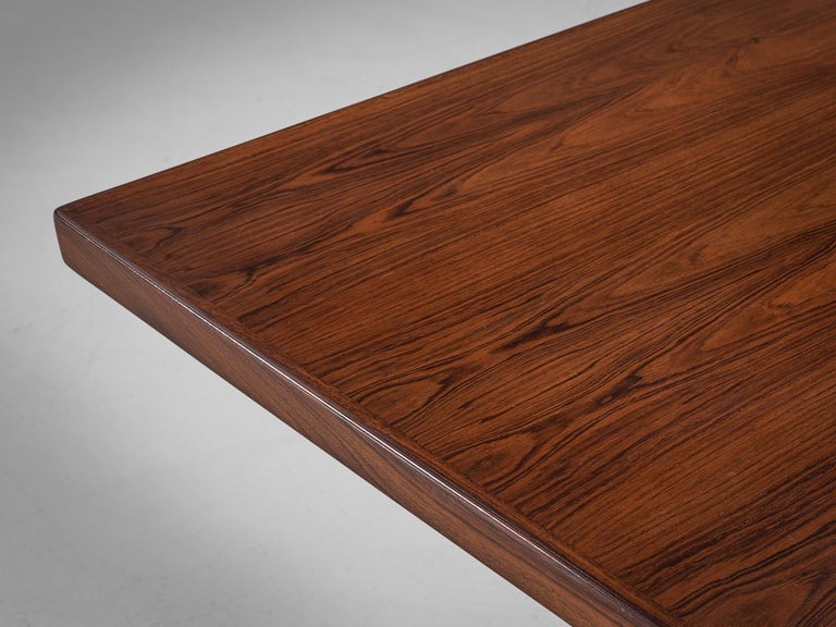 Extra Large Arne Vodder Dining Table in Rosewood For Sale 2