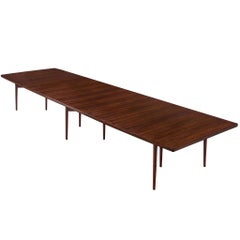 Extra Large Arne Vodder Dining Table in Rosewood